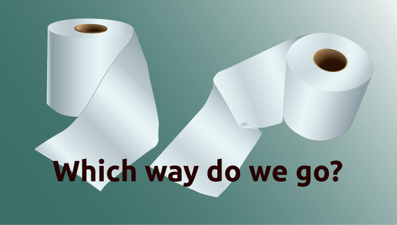 Perfectionism and the Toilet Paper Roll