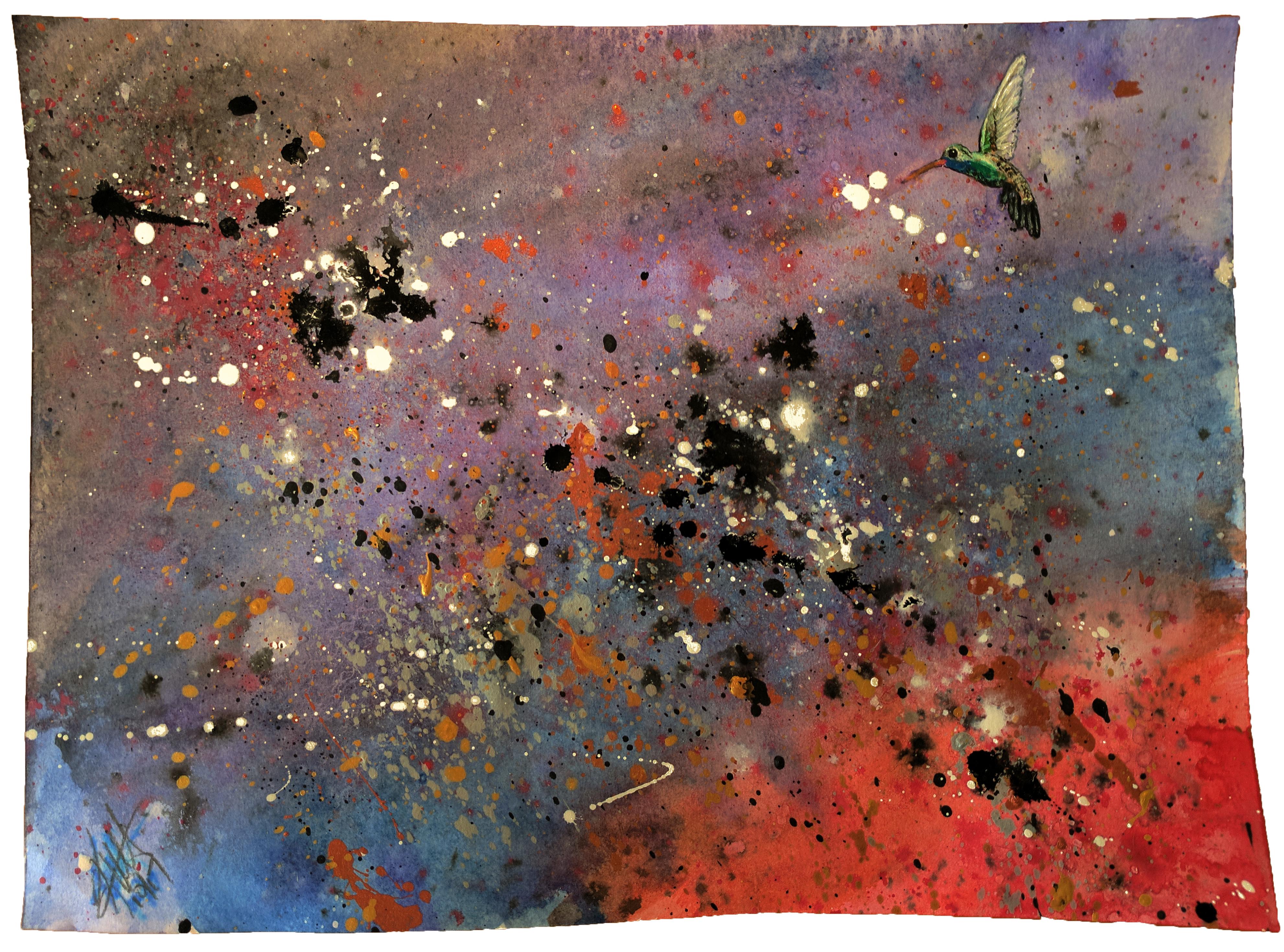 galactic hummingbird